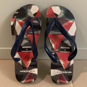 Missoni + Havaianas Flip Flops